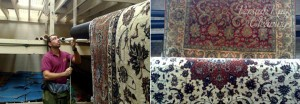 Rug Cleaning - Hanging & Drying Rugs