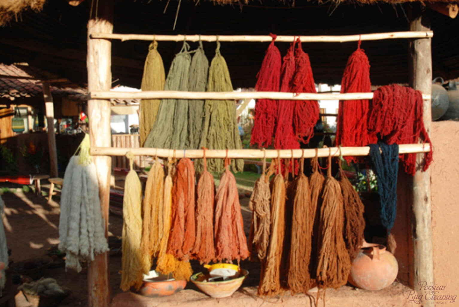 Types of Natural Rug Dyes