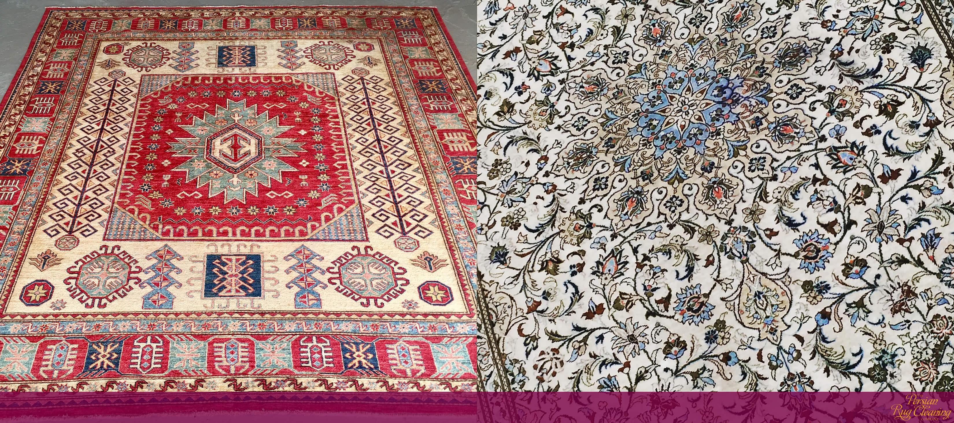 Pak-Caucasian and Silk Kashan Rugs