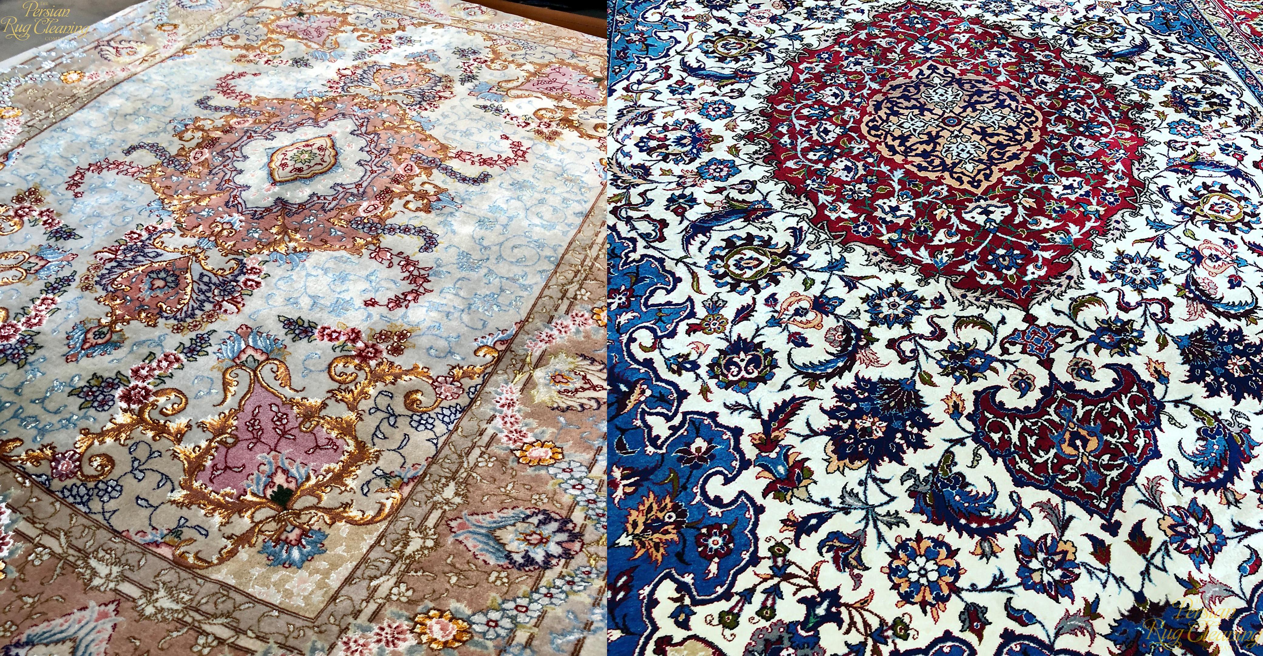 rug cleaning myths - Tabriz and Isfahan
